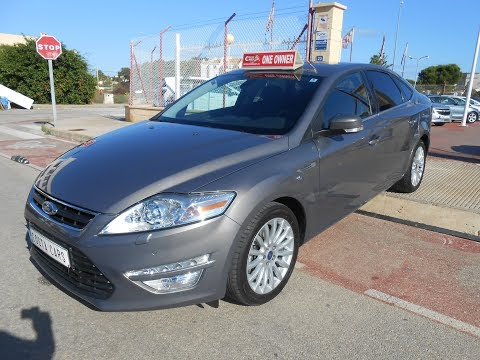 See video Ford MONDEO 1.6ECOBOOST LIM EDIT