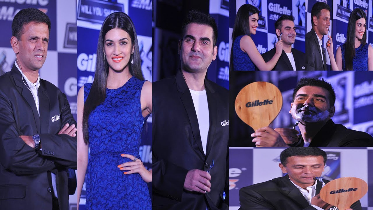 Arbaaz Khan Launches Gillette Mach 3 Razor