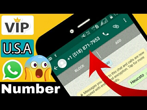 Video Whatsapp latest trick of U.S.A number | get V.I.P no. FREE download in MP3, 3GP, MP4, WEBM, AVI, FLV January 2017