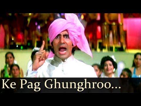 Download Namak Halaal  - Ke Pag Ghunghroo Bandh Meera - Kishore Kumar - Chorus hd file 3gp hd mp4 download videos