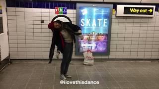 Paris – Freestyling in London Subway