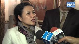 نائبة وزير خارجية الفيتنام تتباحث مع رئيس مجلس المستشارين