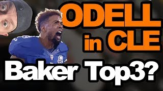 Odell Beckham traded to Browns; Baker Mayfield Top 3?
