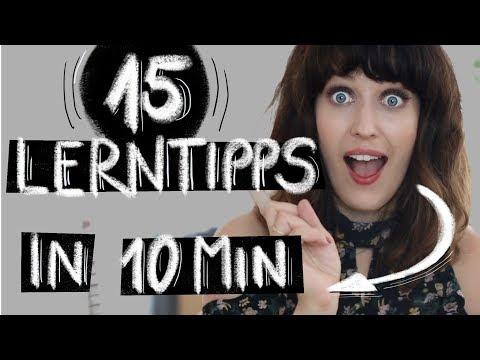 DIE BESTEN 15 LERNTIPPS IN 10 MINUTEN (видео)
