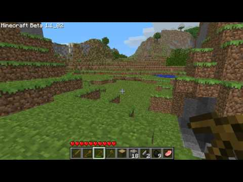 ▶ Minecraft guide - How to survive your first night! (and building a basic shelter) - TGN.TV