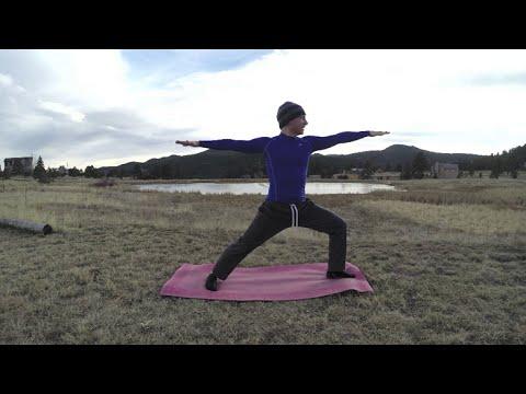 35 Min Sean Vigue Beginner Yoga Routine – HASfit Yoga for Beginners Yoga Workout – Yoga Exercises