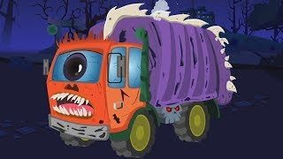 Video truk sampah yang menakutkan | cuci mobil | Car Wash Video | Scary Vehicles for Kids | Garbage Truck MP3, 3GP, MP4, WEBM, AVI, FLV Juni 2018
