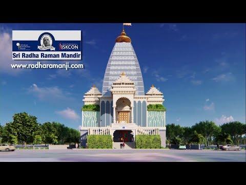 Bhumi Puja of Sri Radha Raman Mandir