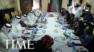 The UAE is behind the hacking of the Qatari media, according to a Washington Post report. Subscribe to TIME...