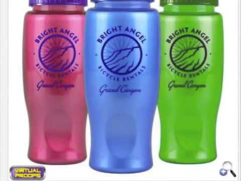 Custom Company Logo Printed Promotional Water Bottles NJ