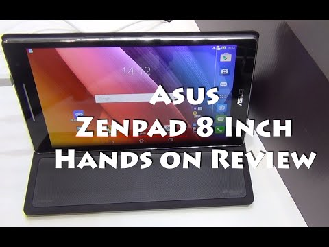 Asus Zenpad 8 Inch Tablet India Hands on Review, Camera and Features