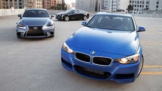 Sports Sedan Comparison Test -- Edmunds.com