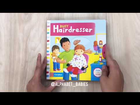 busy hairdresser by @alphabet_babies
