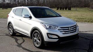 2013 Hyundai Santa Fe Sport - WINDING ROAD POV Test Drive