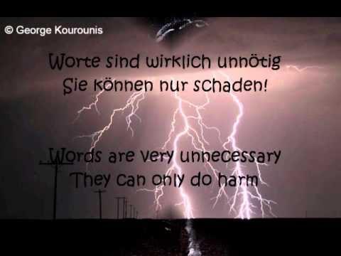 Texas Lightning - Enjoy The Silence lyrics