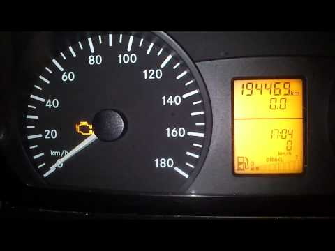 mercedes sprinter service interval reset