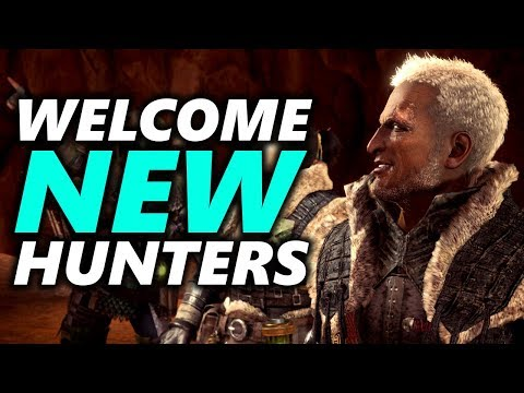 MONSTER HUNTER WORLD PC BEGINNER TIPS (also valid for PS4 & XBOX One)