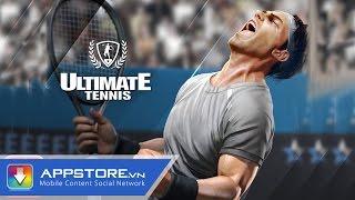 [Game] Ultimate Tennis - Trải nghiệm tennis theo phong cách cực mới lạ - AppStoreVn, tin công nghệ, công nghệ mới