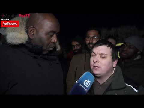 "AFTV: ""The best thing about today is the fact that I couldn't see any of it cause I'm blind"""