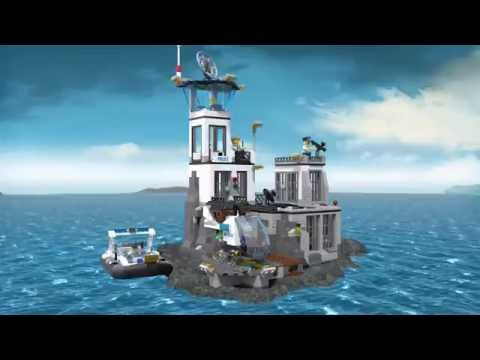 Конструктор Остров-тюрьма - LEGO CITY - фото № 4