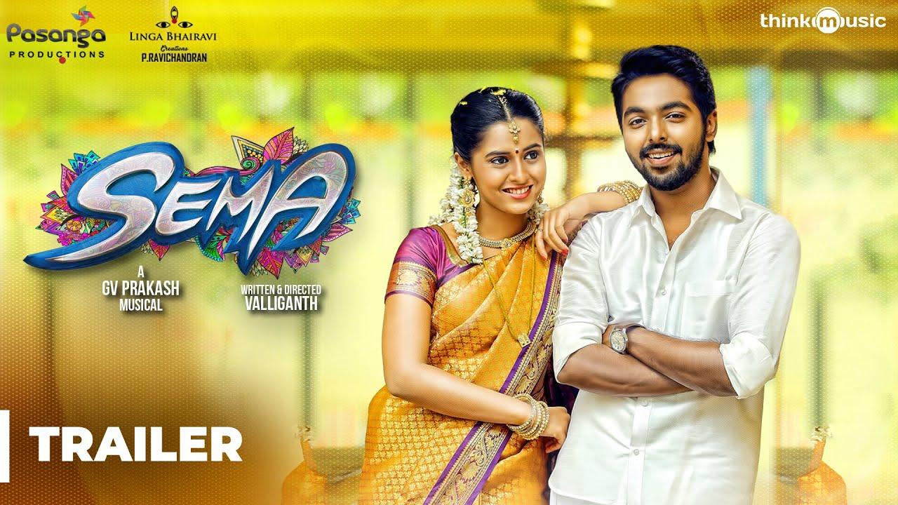 Sema Official Trailer 2 | G.V. Prakash Kumar, Arthana Binu | Valliganth | Pandiraj