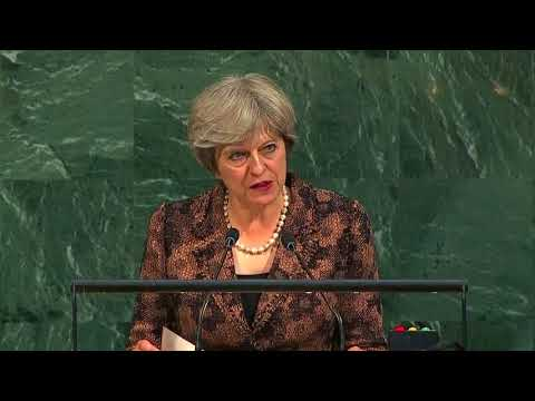 PM May calls out Syria, Myanmar and North Korea in UN address
