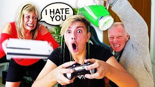 IGNORING MY PARENTS FOR 24 HOURS!! *Gone Too Far*