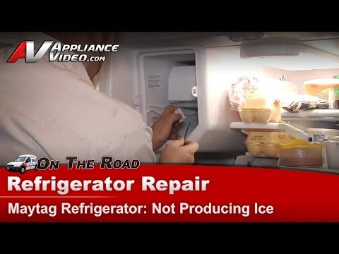 Maytag Refrigerator Repair – Not Producing Ice – MFI2670XEW6