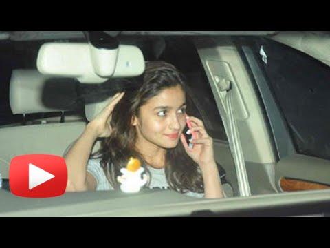 EXCLUSIVE | Alia Bhatt Got Embarrassed While Retur