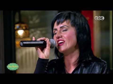 """فالانتينا البيلاروسية تغني """"ما بلاش"""" لحماقي"""