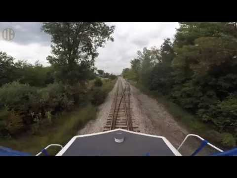 Cab Ride on the Old Ann Arbor Railroad