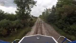 Old Ann Arbor Railroad on map with video.