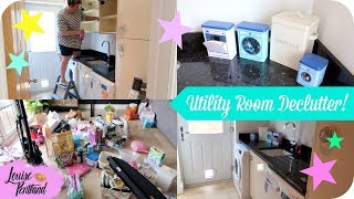 AD | Laundry Room Speed Clean | Declutter and Organise! | LIFESTYLE by Sprinkle of Glitter