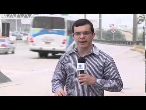 Mulher sobrevive a queda de carro da Ponte Rio-Niterói