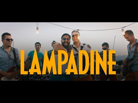 █▬█ █ ▀█▀ -MAURO STARAJ&LA BANDA feat. PEHLIN KINGS - LAMPADINE (OFFICIAL VIDEO 2017) 4k