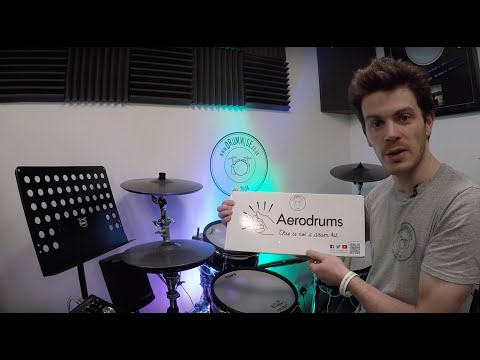 DrumWise.co.uk - Aerodrums Invisible/Air  Drum Kit | Demo, Review + Examples