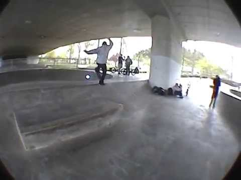 A Morning with Kevin Kowalski at the Washington/Jefferson Skatepark. Eugene, Oregon.