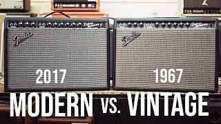 Video Does 50 Years Make A Difference? || Vintage Fender Deluxe vs Reissue MP3, 3GP, MP4, WEBM, AVI, FLV Agustus 2018