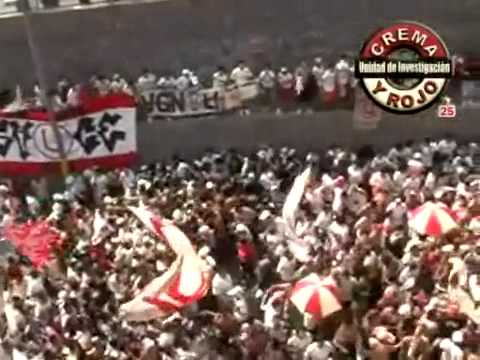 Video - La Previa Del Clasico **En El Monumental** - Trinchera Norte - Universitario de Deportes - Peru