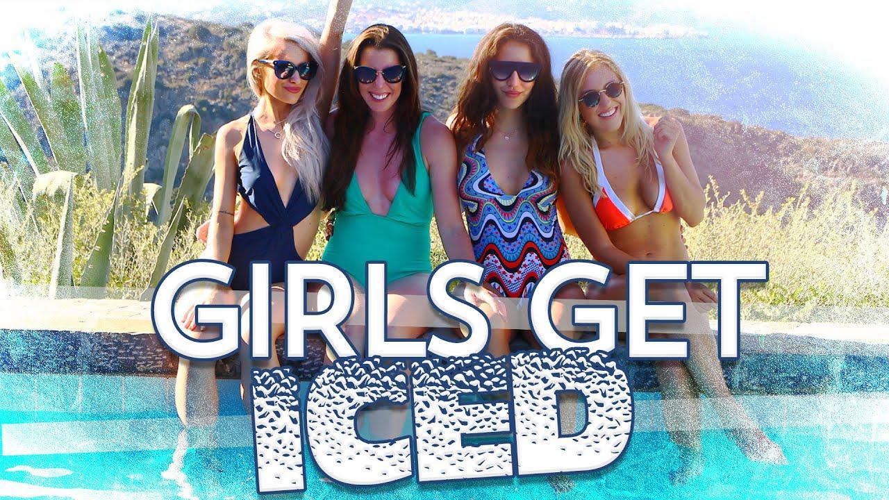 4 Girls, 1 Ice Bucket CHALLENGE   Inthefrow