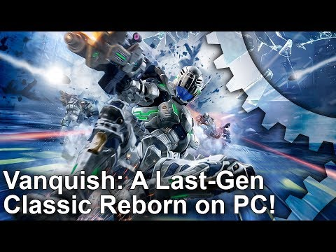 Vanquish PC - The Port You've Been Waiting For! PC vs PS3 Comparison!