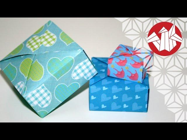 Tuto origami boite cadeau tuto origami boite cadeau senbazuru - Boite cadeau origami facile ...