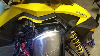 5. Ski doo 600 Ace oil change