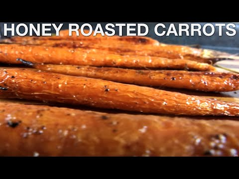 You Suck at Cooking Honey Roasted Carrots