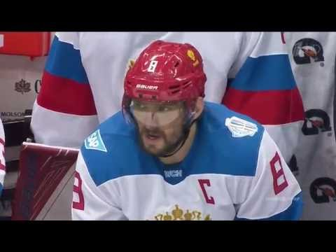 Россия-Северная Америка U23 4:3 20.09.16 Хоккей. Кубок Мира 2016 (видео)