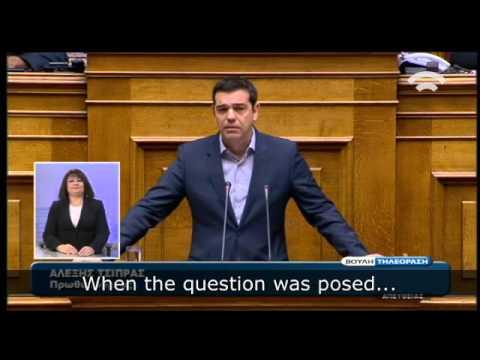 Α. Τsipras: Greece is committed to showcasing Europe's humanitarianism