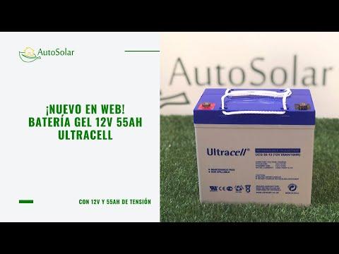 Modelos de uñas - Batería GEL 12V 55Ah Ultracell UCG-55-12