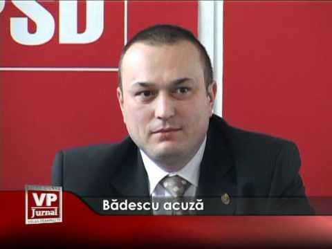 Bădescu acuză