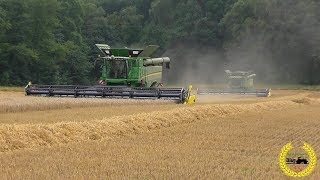 Video Ernte auf Rügen mit 2 X John Deere S690i Getreideernte / Harvest / 2017 MP3, 3GP, MP4, WEBM, AVI, FLV November 2017