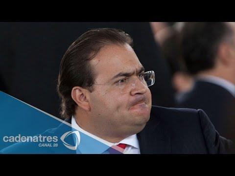 """Acusa Javier Duarte """"linchamiento público"""" por el caso Narvarte"""